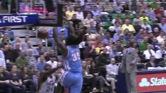 Video - Kenneth Faried Takes Off