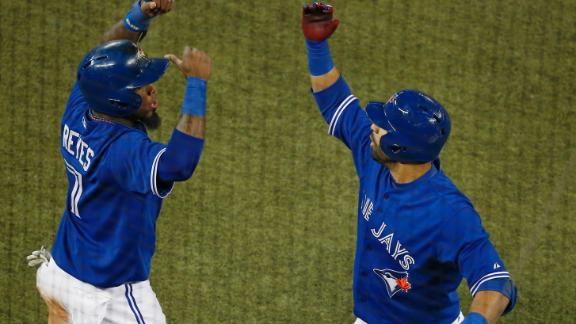 Arencibia, Encarnacion homers power Jays