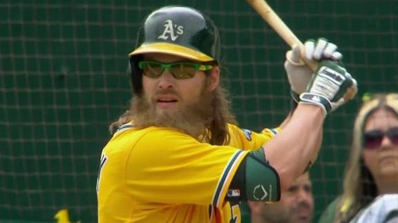 Reddick, Cespedes power A's past Mariners