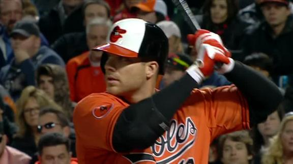 Davis' 4-game homer streak over as O's fall