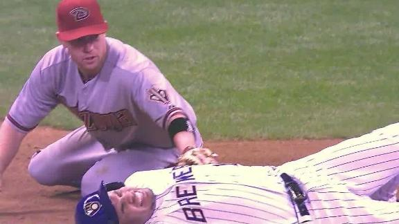 Sprained knee lands Brewers' Ramirez on DL