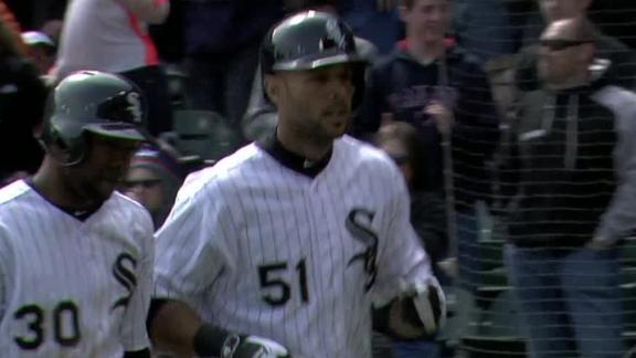 Rios' tiebreaking home run lifts White Sox
