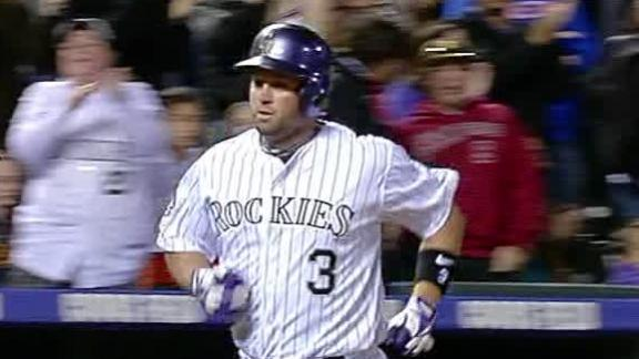Video - Cuddyer's Big Night Lifts Rockies