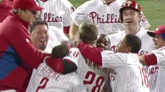 Video - Phillies Walk Off On Royals