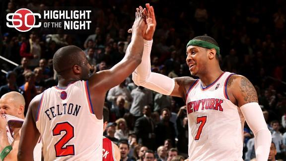 Video - Knicks Win 11th In A Row