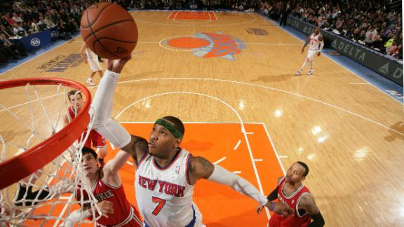 Video - Carmelo, Knicks A Force To Be Reckoned With
