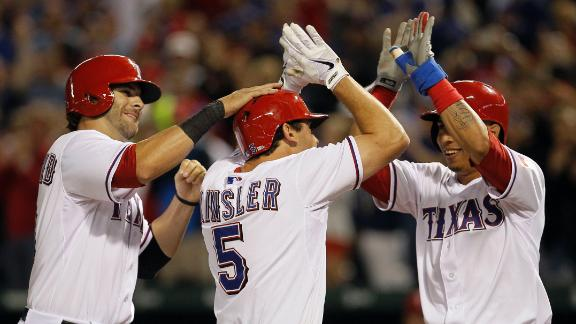 Video - Rangers Use Long Ball To Sink Angels
