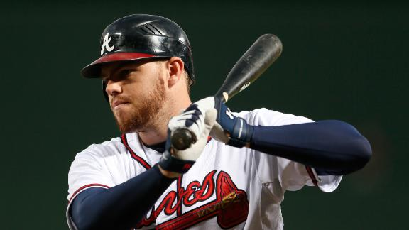 Braves 1B Freeman angered over DL move