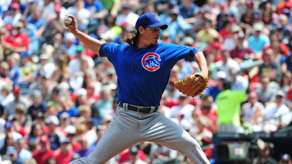 Video - Samardzija Fans 13 In Loss To Braves