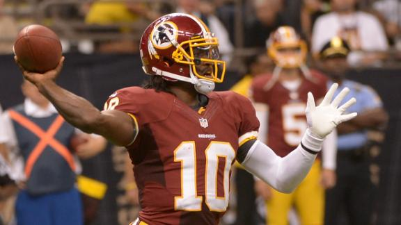 Video - NFL32OT: RG III Set For Comeback?