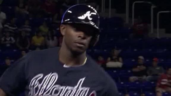 J. Upton homers again as Braves top Marlins