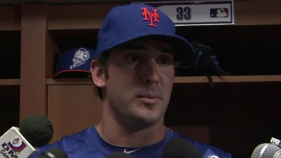Video - Matt Harvey After Win Over Phillies