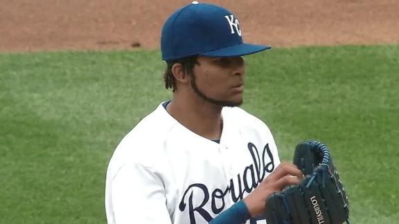 Video - Santana, Royals Win Home Opener