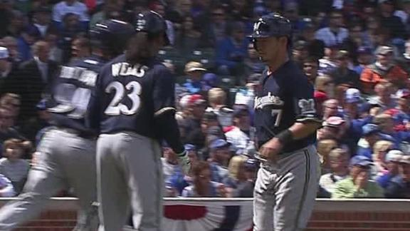 Video - Brewers Snap Five-Game Skid