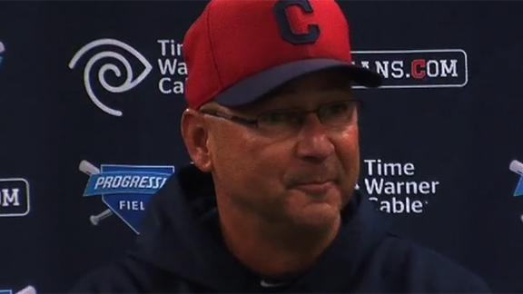 Video - Francona Gets Lost Walking To Game