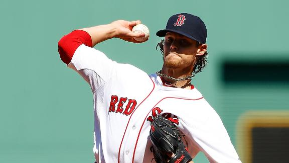 Video - Buchholz Solid In Boston's Home Opener