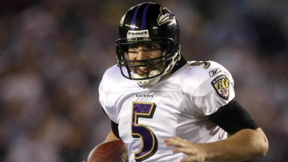 Video - Flacco To Play Unitas On Film