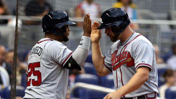 Medlen leads Braves to fifth straight victory