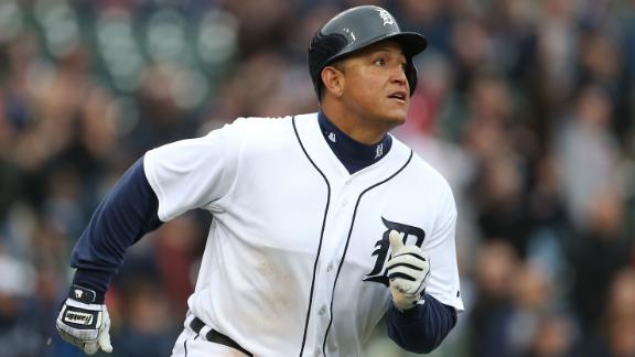 Cabrera powers Tigers past slumping Jays