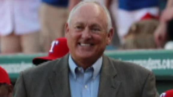 Video - Nolan Ryan Staying With Rangers