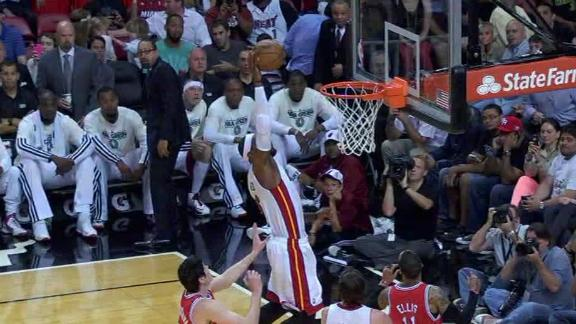 Video - LeBron Alley-Oops To Himself