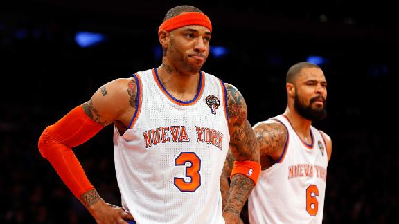 Knicks' Chandler, Martin out against Bulls