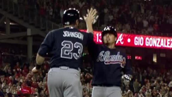 Pena's HR in 10th helps Braves edge Nats