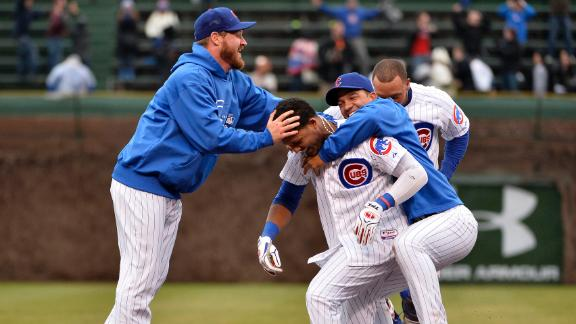 Video - Castro, Cubs Walk Off