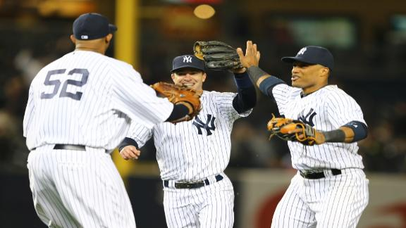 Yankees turn triple play in 4th straight victory