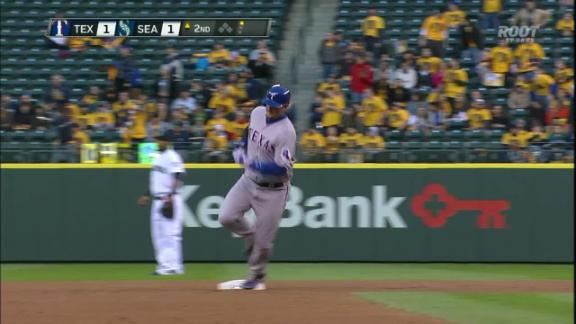 Video - Rangers Deny King Felix 100th Win