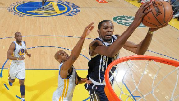 Video - Was Durant's Gesture Over The Line?