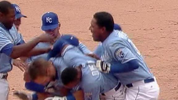 Video - Royals Walk Off Over The Blue Jays