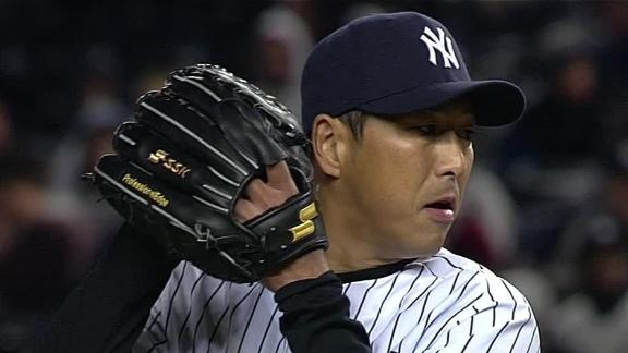Kuroda quiets Orioles for 5th career shutout