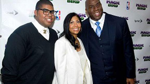 Son of Magic Johnson talks about being gay