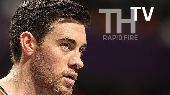 Video - Rapid Fire With Nick Collison