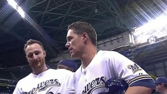 Video - Brewers Earn Walk-Off Win