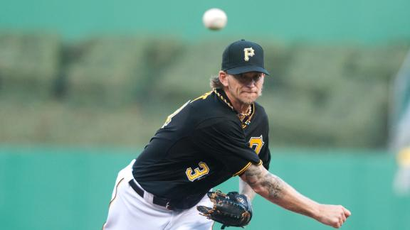 Pirates' Burnett flirts with 2nd career no-hitter