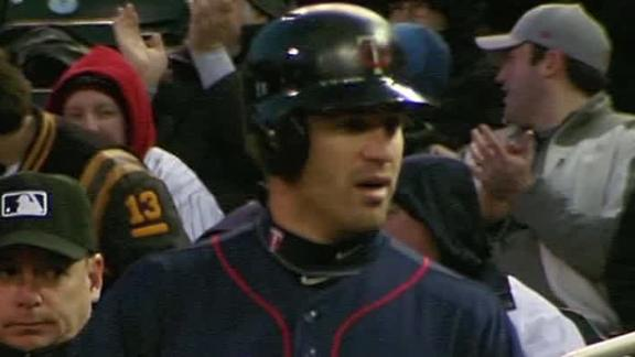 Video - Mauer Ignites Twins Past Angels