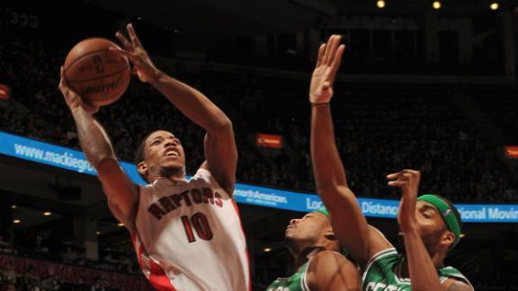 Video - DeRozan Powers Raptors Past Celtics