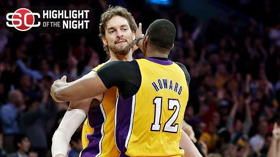 Video - Lakers Clinch No. 7 Seed With Win