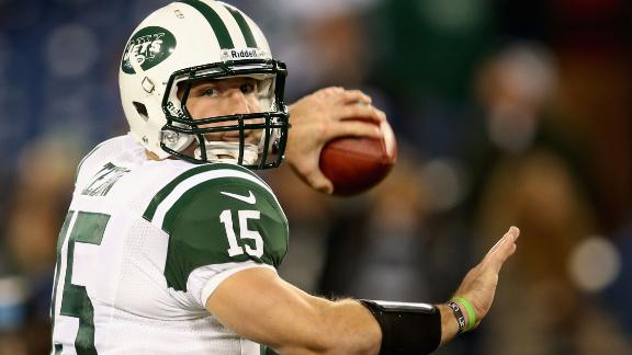 Sanchez's take: Jets encouraged Tebow hype