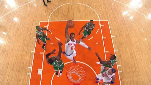 Video - Knicks and Celtics kick-off playoffs at MSG