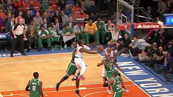 Video - Knicks try to pull away behind JR Smith