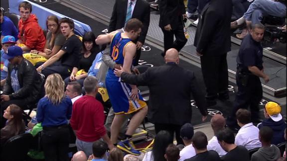 Video - David Lee Injured on a Hard Fall