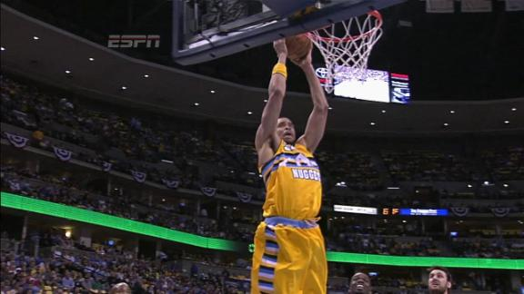 Video - JaVale McGee Alley-Oop