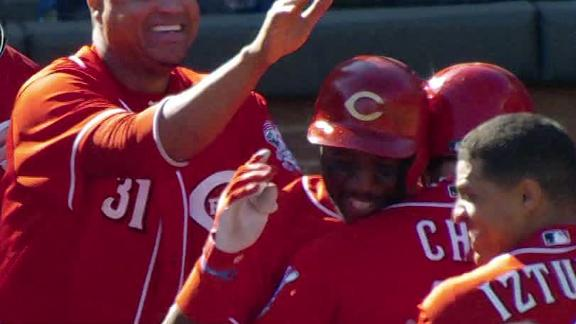 Video - Reds Win In Extra Innings