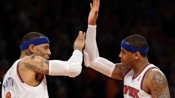 Video - Carmelo Leads Knicks To Game 1 Win