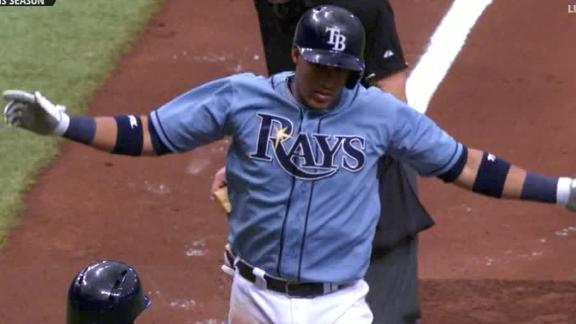 Hernandez effective as Rays cap sweep of A's