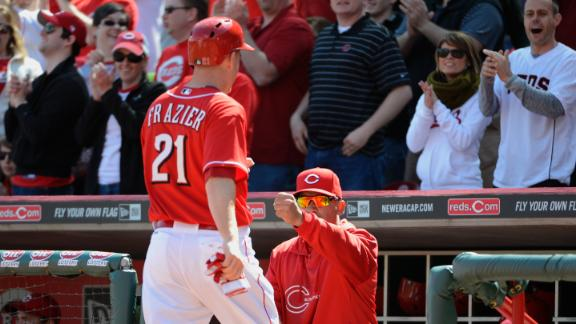 Phillips key again as Reds throttle Marlins