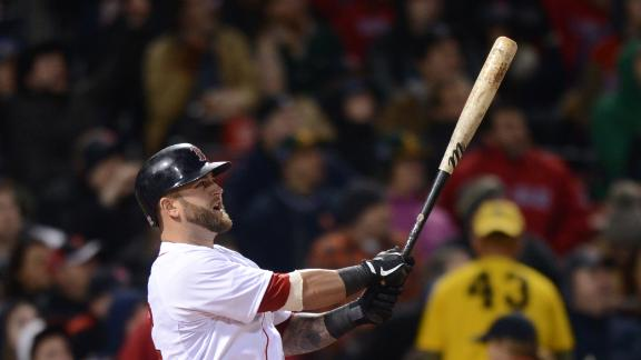 Napoli slam helps Red Sox power past A's
